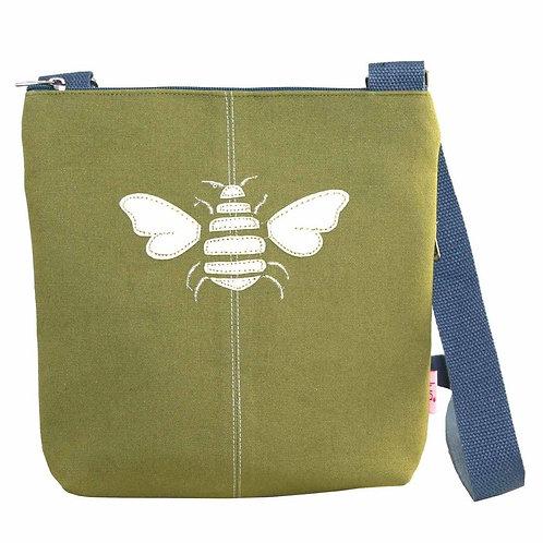 Lua - Bee Cross Body Bag - Olive