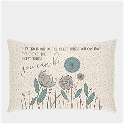 East Of India - A Friend Is One Of The Nicest Cushion