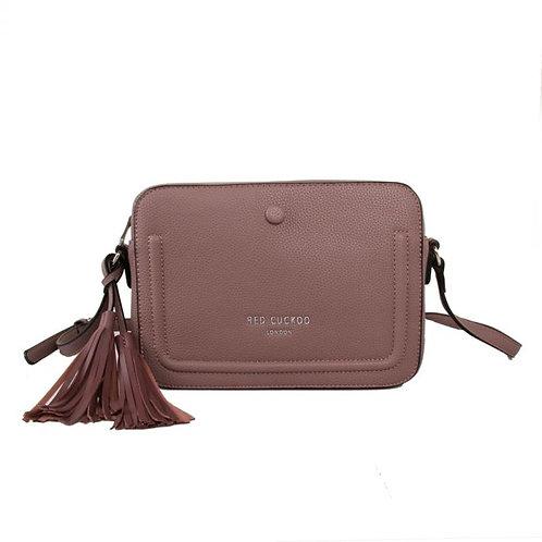 Red Cuckoo - Dusky Purple Tassel Cross Body Bag