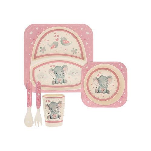 Pink - Bird & Ellie Feed Set