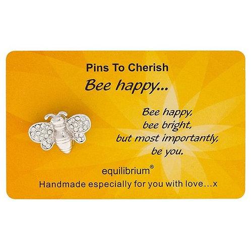 Bee Happy - Cherish Pin