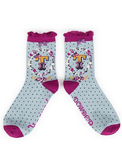 Powder UK - A - Z Socks - T