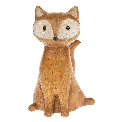 Country Life - Sitting Fox Decoration