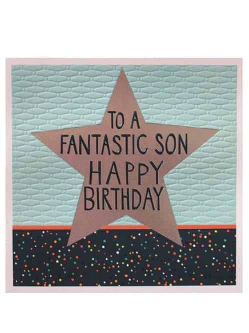 Son - Birthday Card