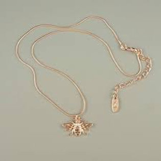 Honey - Rose Gold Worker Bee Necklace