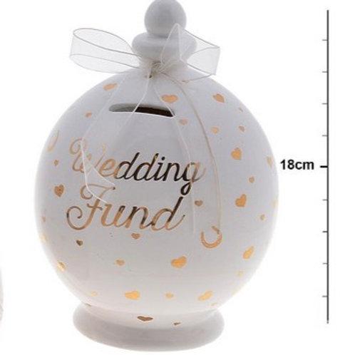 Wedding Fund - Ceramic Money Pot