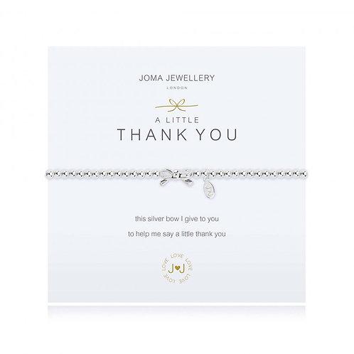 Joma Jewellery - 'A Little' Thankyou Bracelet