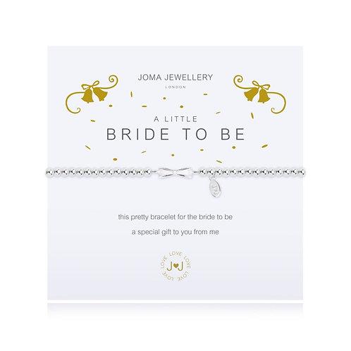 Joma Jewellery - 'A Little' BrideTo Be Bracelet