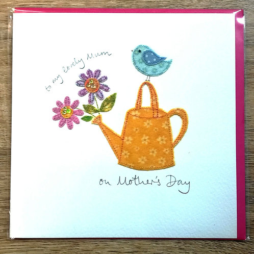 To A Lovely Mum - Mother's Day Card