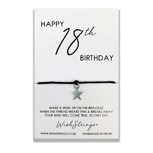 WishStrings - Happy 18th Birthday