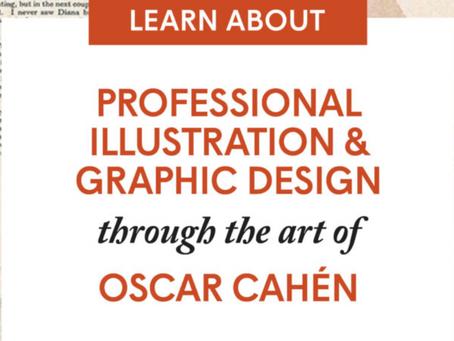 Professional Illustration & Graphic Design through the art of Oscar Cahén