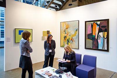 Oscar Cahén Painting Featured at Toronto International Art Fair