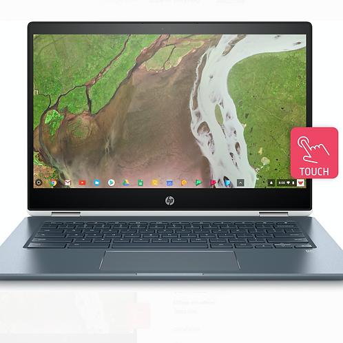 """HP Chromebook 14-DA0021NR x360, 14"""" FHD IPS Micro-edge Touch Display"""
