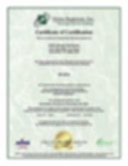 2018 eScrap Solutions-R2.2013 Certificat