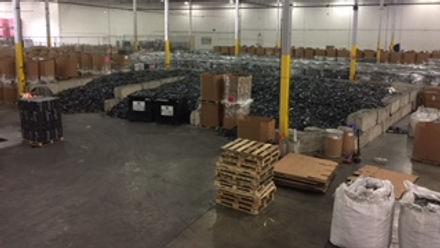 ACE eScrap Solutions warehouse
