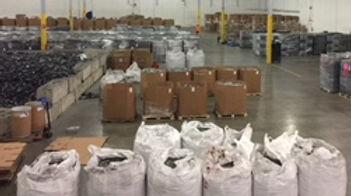 ACE eScrap Solutons warehouse