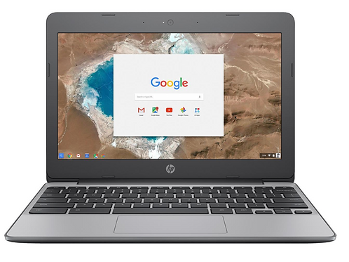 HP 11-V000NR Chromebook Intel Celeron N3060 (1.60 GHz) 2GB Memory 16GB EMMC