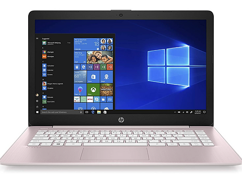 HP Stream 14-Inch Laptop, AMD Dual-Core A4-9120E Processor, 4 GB, 64 GB EMMC