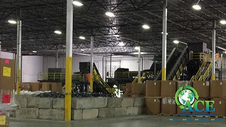 ACE eScrap Solution warehouse