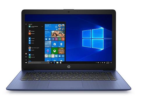 """HP 14"""" Stream Laptop Windows 10H 14-DS0036NR AMD A4-9120E  1.5GHZ/4GB/64GB EMMC"""