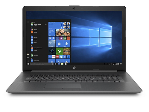 "HP Touchscreen 17-BY1085CL 17.3"" HD+ Laptop, 1.8 GHz, 8GB Memory, 512GB SSD"