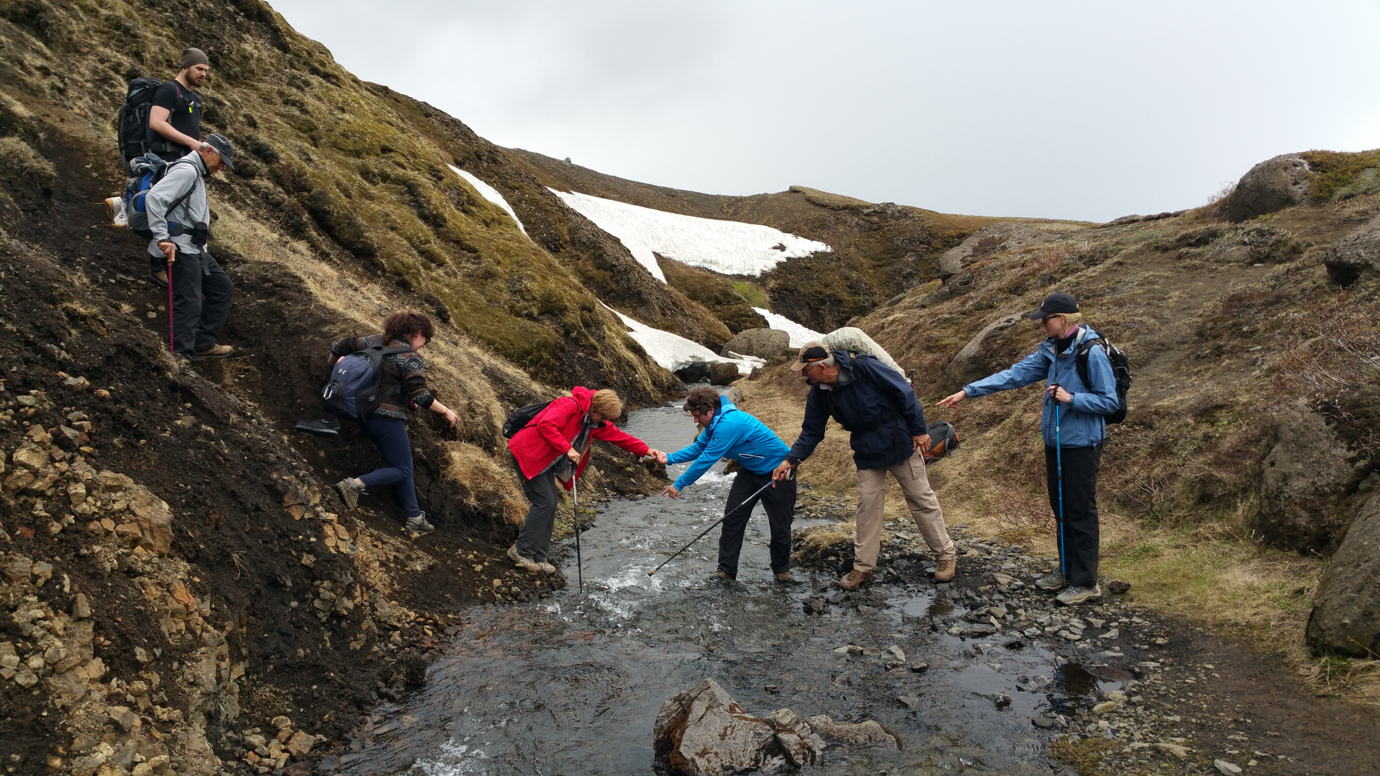 Hiking in Iceland 5th-10th of July 2021