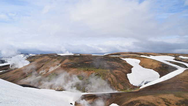 Overview of snow and geothermal water vapor