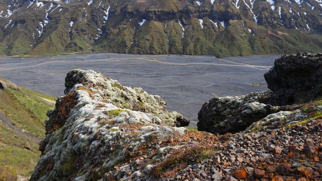 Overlooking Þórsmörk valley
