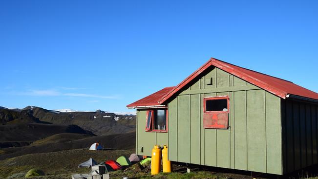 Emstrur hut