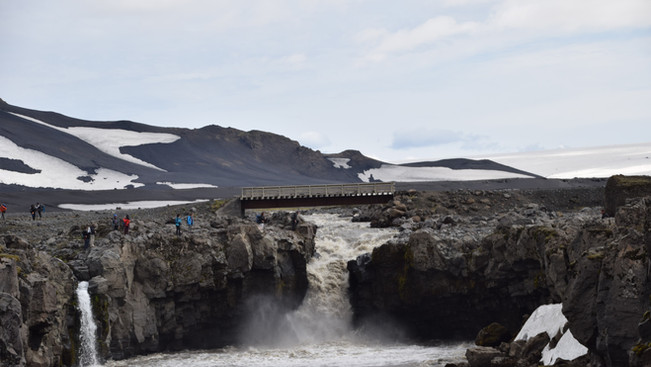 Is it even a travel in Iceland if you don't see a waterfall?