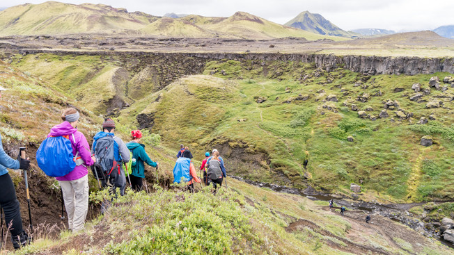 Day 5 - Basalt columns and a small valley