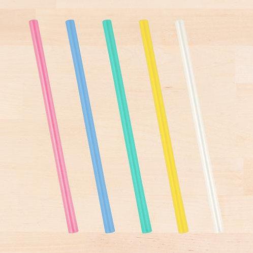 """9"""" Reusable Silicone Straws"""