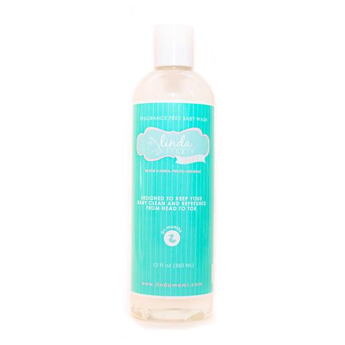 Linda Mami Baby Wash (fragance free)
