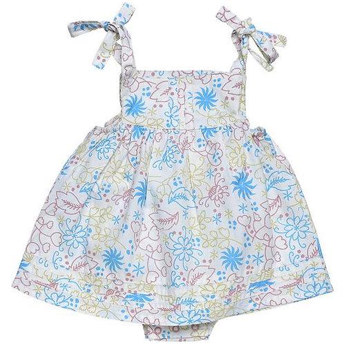 Bubble Dress Floral Garden