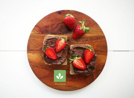 Cieciorella idealna czyli słodki, wegański i czekoladowy krem śniadaniowy