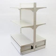 両面ゴンドラセット(棚板4枚+ロールインボックス)