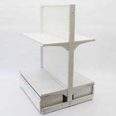両面ゴンドラセット(棚板2枚+ロールインボックス)