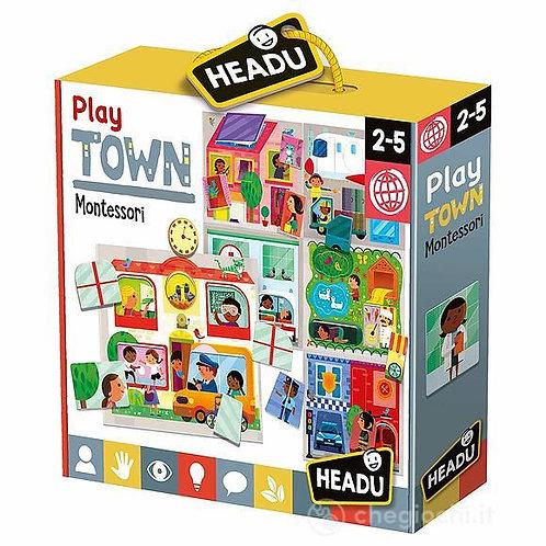 Baby play town Montessori