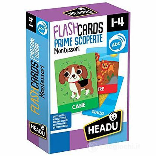 Flashcards. Prime scoperte Montessori