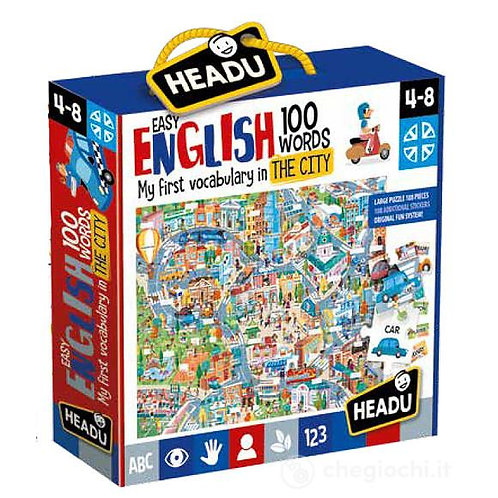 Easy english 100 words. The city