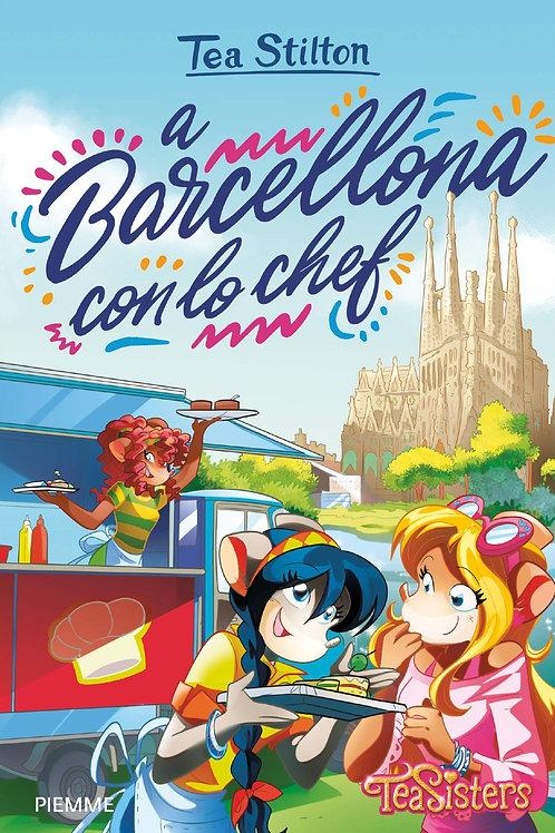A Barcellona con lo chef di Tea Stilton
