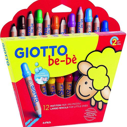 GIOTTO be-bè. 12 matitoni per i più piccoli