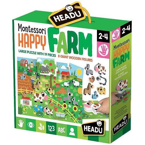 Happy farm. Montessori