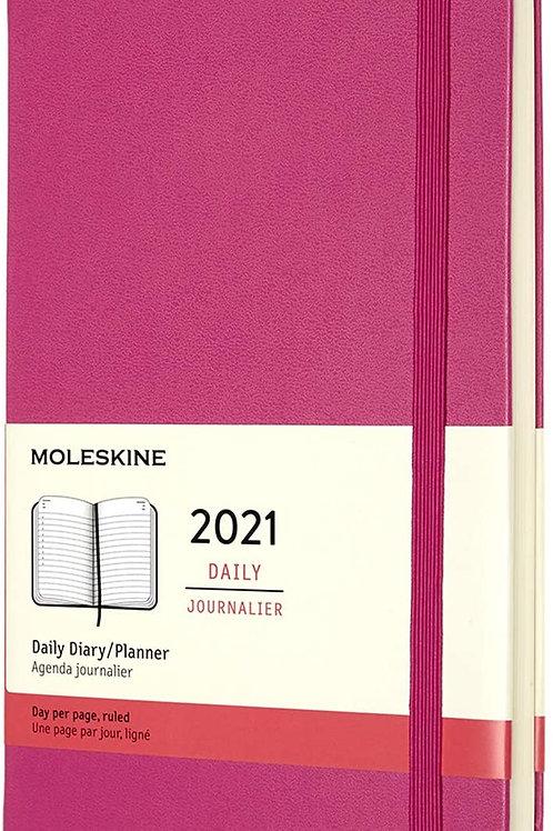 Moleskine 2021 daily journalier