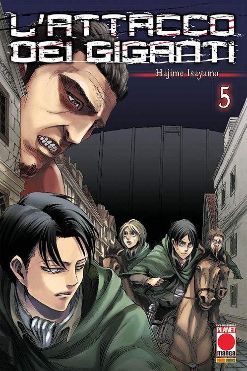 L'attacco dei giganti (Vol. 5)