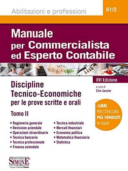 Manuale per commercialista ed esperto contabile