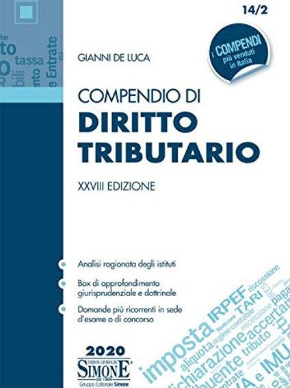 Compendio di diritto tributario di Gianni De Luca