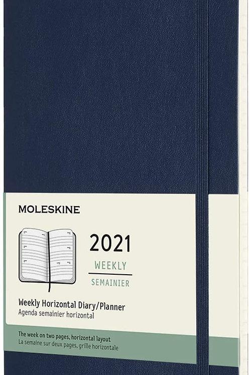 Moleskine 2021 weekly semanier