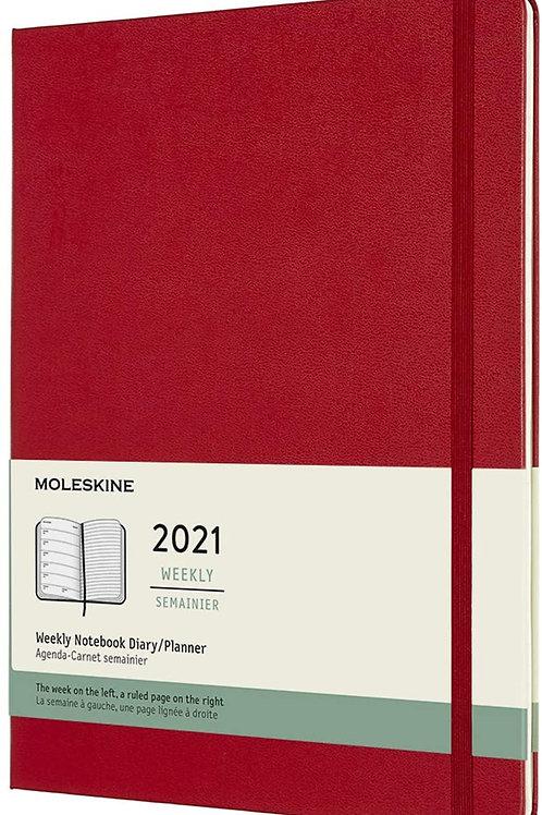 Moleskine 2021 weekly semainier