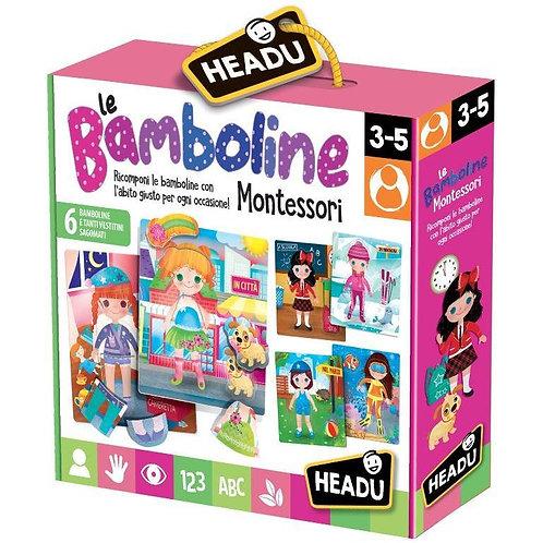Le bamboline. Montessori